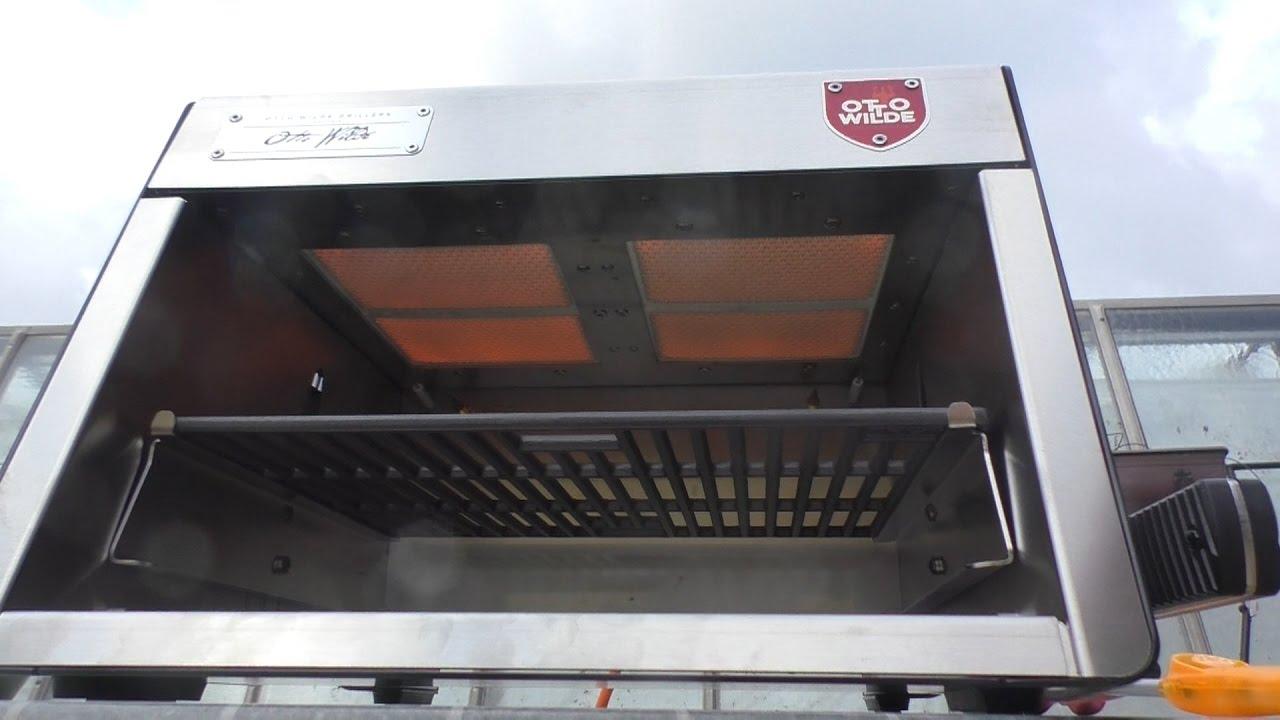 Outdoor Küche Otto : Herbie packt für euch den o.f.b. von otto wilde grillers aus