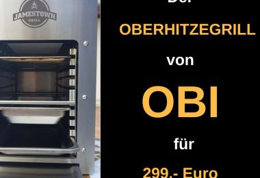OBI Steakgrill Oberhitzegrill